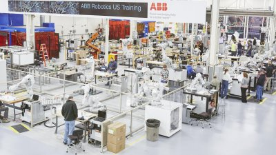 abb traffic factory - internal lighting