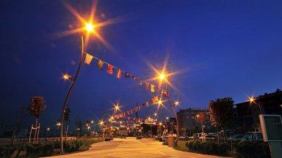 община b.çekmece - околна среда и осветление на пътища