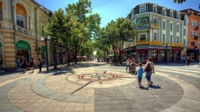 burgaz-kircaali cadde und park ayd. bulgarien