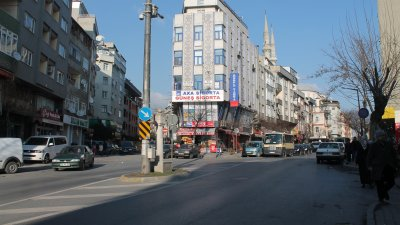 zeytinburnu mevlana street lighting and vehicle road lighting