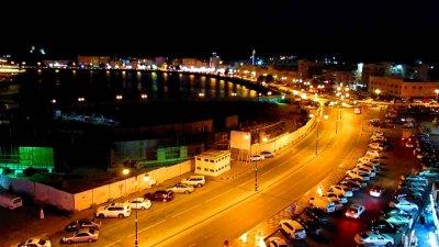 شارع عمان والإضاءة البيئية