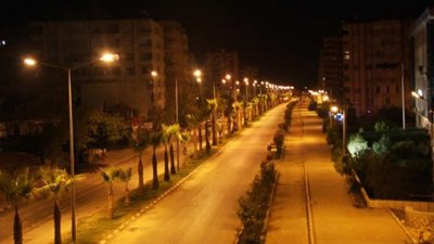 topkapi maltepe street street and environment lighting