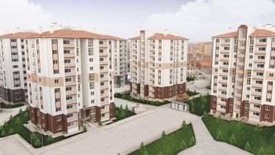 toki kayabaşi residential area outdoor lighting