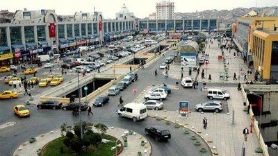esenler main bus terminal / istanbul
