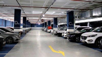ispark ümraniye general management building indoor and office lighting