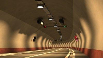bulgaria tunnel lighting