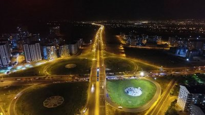 turkmenistan – outdoor lighting projects