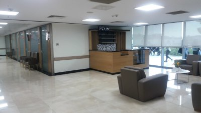 adnan menderes university hospital / indoor lighting